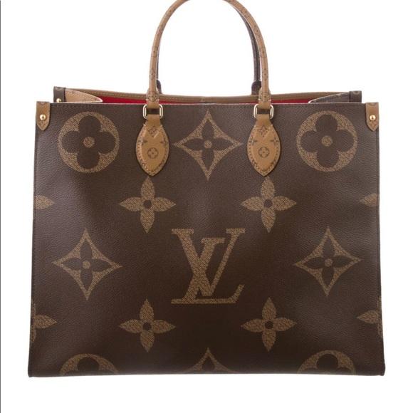 Louis Vuitton Handbags - Louis Vuitton ONTHEGO reversed monogram